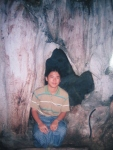 AKO near the Nathamee YetKann Sin / Angel's loom Pindaya cave, 2000