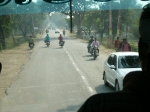 on the way to Bodha Gaya