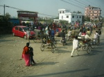 Near the Nepal-India border