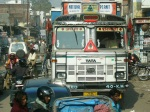 the ubiquitous TATA truck