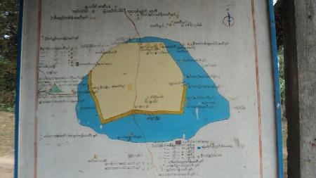 The Thargara ancient Pyu city map