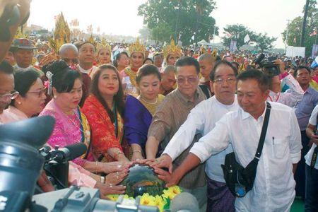 Sagaing Myaung tsp noviciation ceremony, Myaung tsp, Sagaing 19
