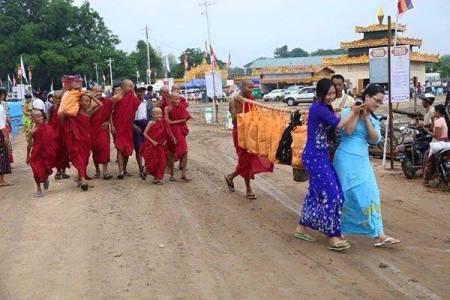 Sagaing Myaung tsp noviciation ceremony, Myaung tsp, Sagaing 23