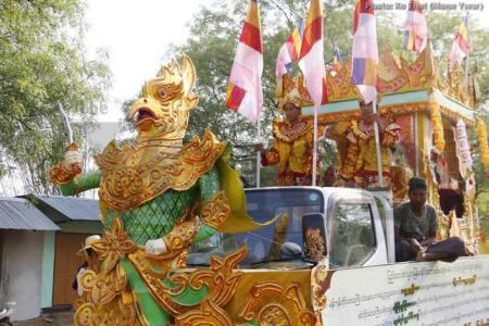 Sagaing Myaung tsp noviciation ceremony, Myaung tsp, Sagaing 28.jpg
