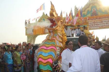 Sagaing Myaung tsp noviciation ceremony, Myaung tsp, Sagaing 3