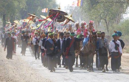 Sagaing Myaung tsp noviciation ceremony, Myaung tsp, Sagaing 30
