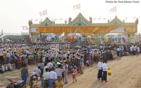 Sagaing Myaung tsp noviciation ceremony, Myaung tsp, Sagaing 31