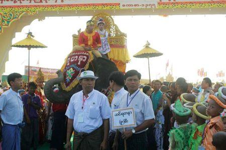 Sagaing Myaung tsp noviciation ceremony, Myaung tsp, Sagaing 4