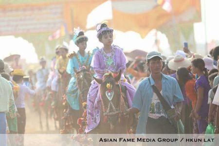 Sagaing Myaung tsp noviciation ceremony, Myaung tsp, Sagaing 8